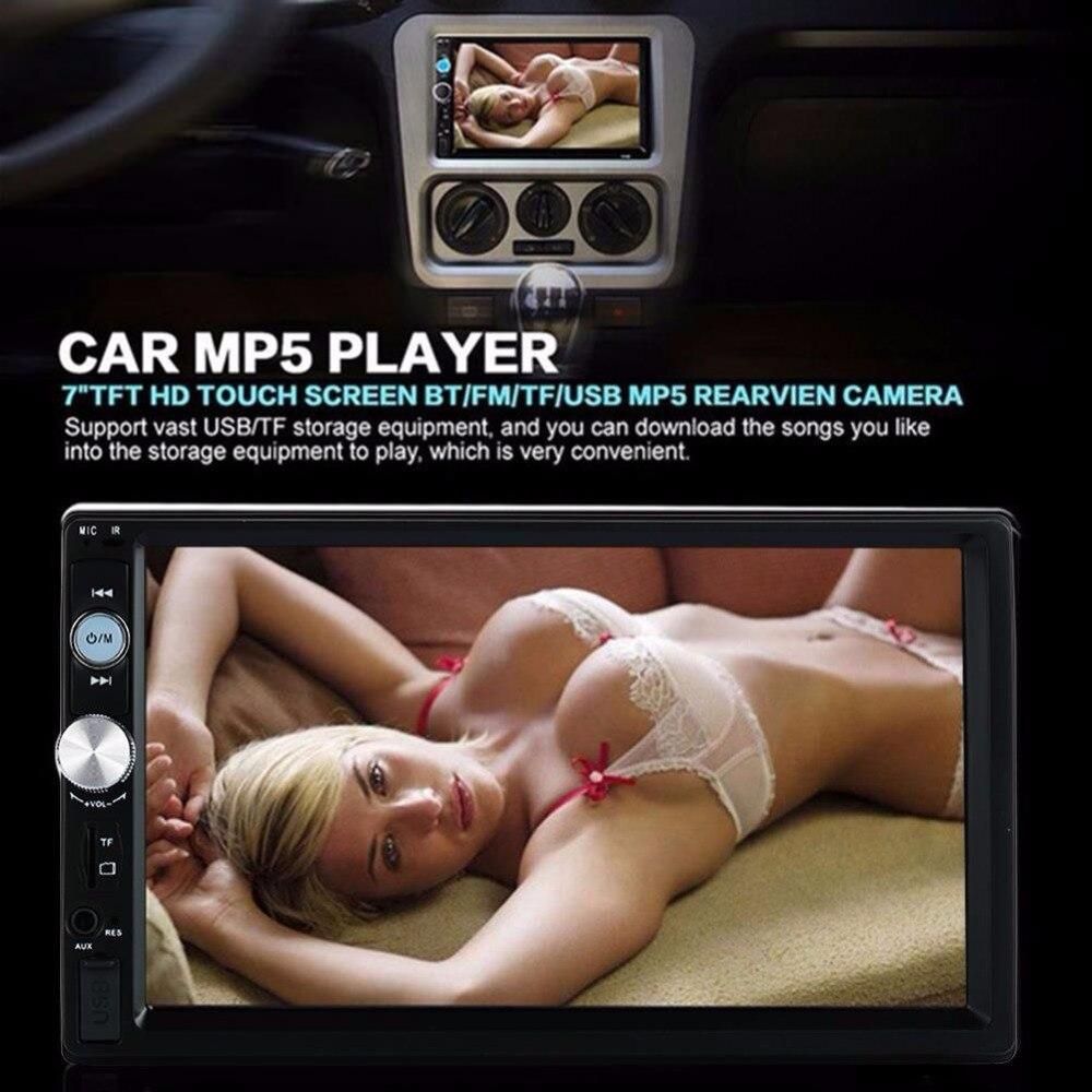 Vehemo Bluetooth Hands-Free mp5 плеер автомобиля mp5 hd Дистанционное управление Премиум DC 12 В Электроника для автомобиля smart