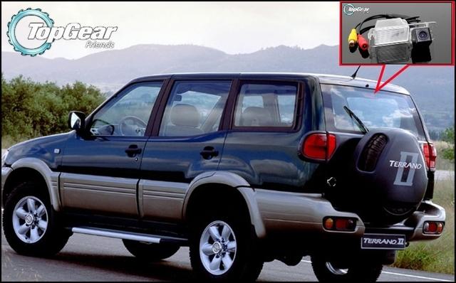 Câmera do carro Para Nissan Terrano 1995 ~ 2005 de Alta Qualidade câmera de Visão Traseira de Volta até Câmera Para Top Gear Amigos Usam | CCD + RCA