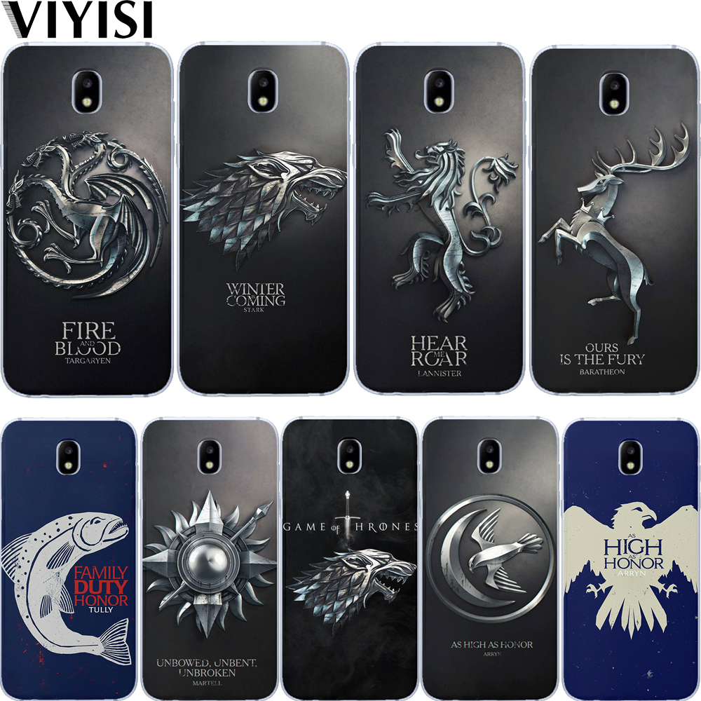 Game Thrones Daenerys Dragon Jon Snow Tyrion Bell Case For Samsung Galaxy J3 J4 J5 J6 J7 J8 Plus 2017 2018 Silicone Etui Coque image