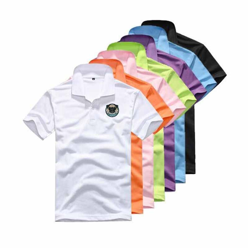 New pure color   Polo   shirt for men: cotton short-sleeved shirt for men;   Polo   shirt for men: printed 14-color   Polo   shirt and short