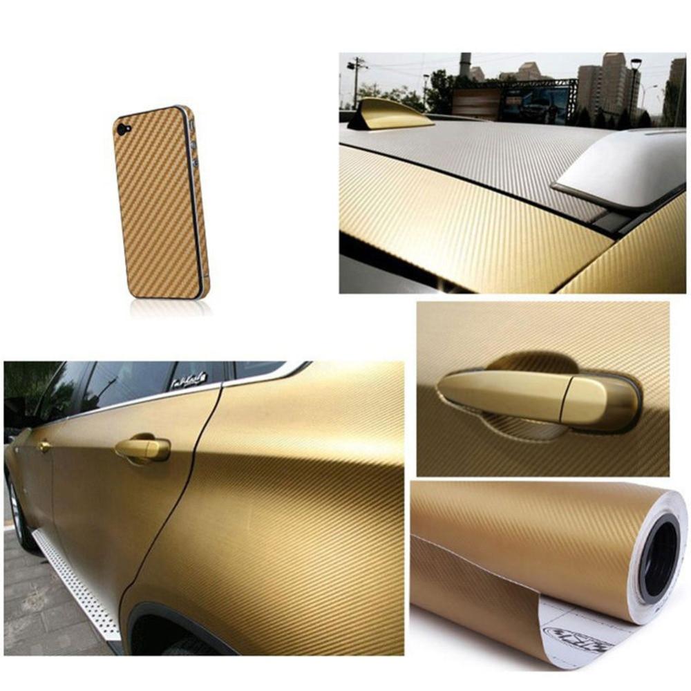 127cmx10/20 см 3D виниловая пленка из углеродного волокна для автомобиля, рулонная пленка, наклейка на машину, мотоцикл, наклейки для автомобиля, аксессуары для интерьера