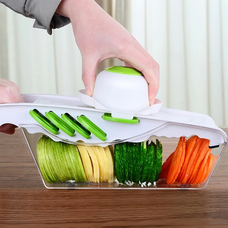 Home Potato Silk Cutters Multifunctional Cutting Vegetables Radish Slice Wireware Delivery Hand Guard Storage Box PeelerHome Potato Silk Cutters Multifunctional Cutting Vegetables Radish Slice Wireware Delivery Hand Guard Storage Box Peeler