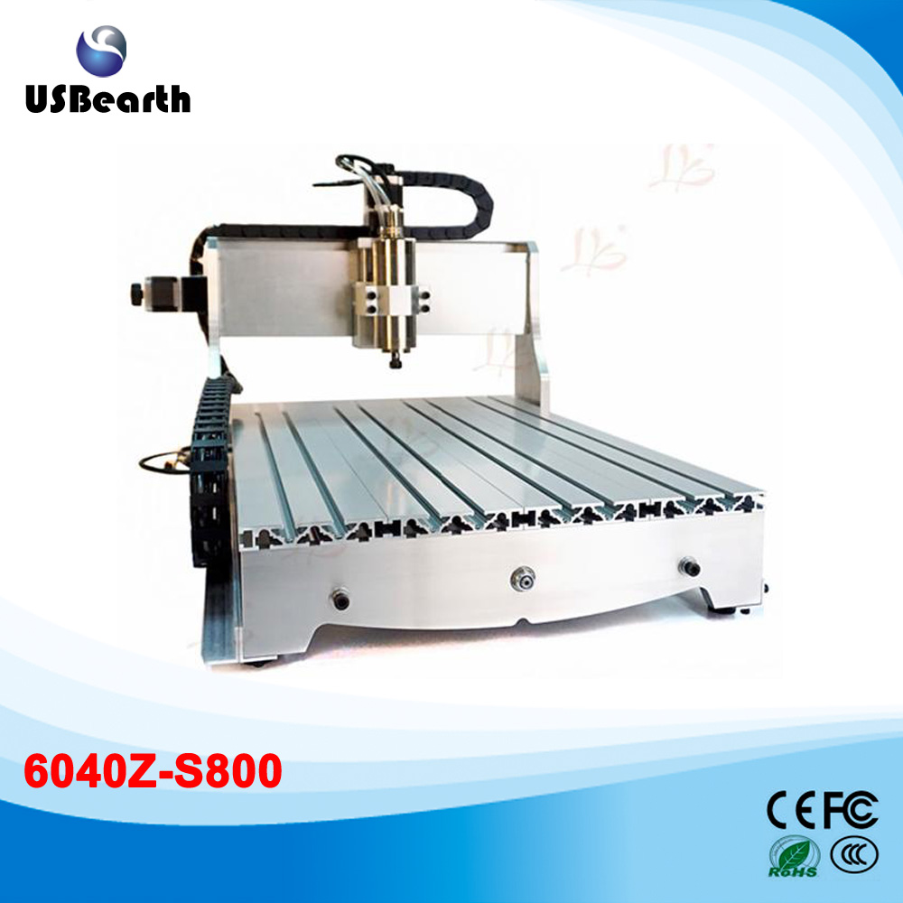 800w water cooled cnc router 6040Z-S cnc cutting machine, ship from germany , free tax to Russia countries russia tax free 6040 cnc marble cutting machine 4 aixs cnc spindle 1 5kw water cooled for 3d glass design