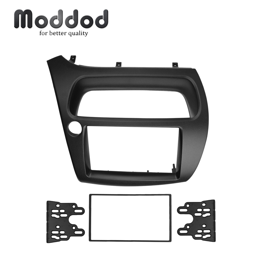 EURO WAREHOUSE For Honda Civic Double Din Fascia Radio DVD Stereo CD Panel Dash Mounting Installation