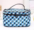 MH004 women Cosmetic Cases 20*12*12cm Quartet package of high-grade satin material portable cosmetic bag formula
