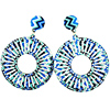 Dream-it-Possible-Pair-Big-Statement-Round-Print-Flower-Earrings-2