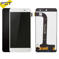 Black/White LCD Display +Touch Screen tested Digitizer Assembly Replacement Accessories For General mobile GM 5 GM5/ GM 4 GM4