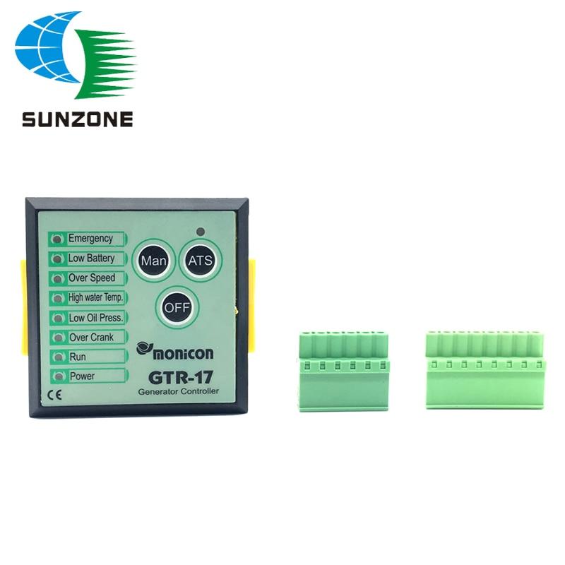 1PCS Generator Controller GTR-17 Genset Parts Auto Start Stop Function