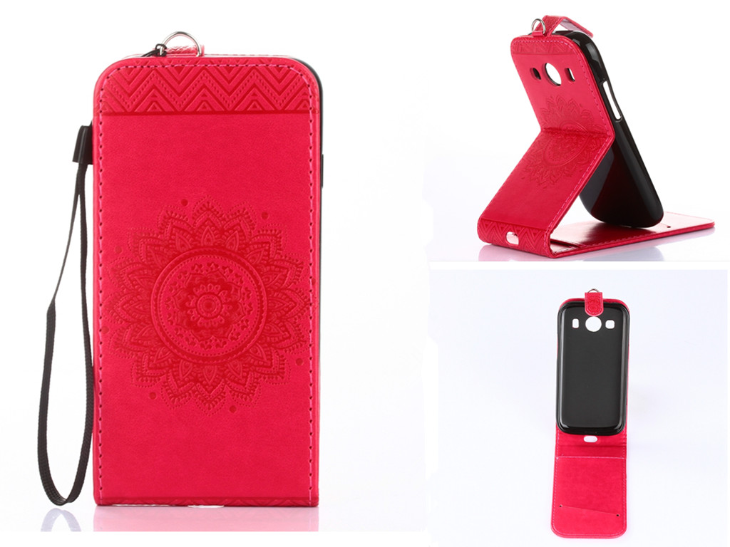 Hot Pink Embossing PU Leather Wallet <font><b>Stand</b></font> <font><b>Flip</b></font> <font><b>up</b></font> and down <font><b>Flip</b></font> New <font><b>Case</b></font> <font><b>Cover</b></font> Lines For <font><b>iPhone</b></font> <font><b>5</b></font> 5s <font><b>Case</b></font>