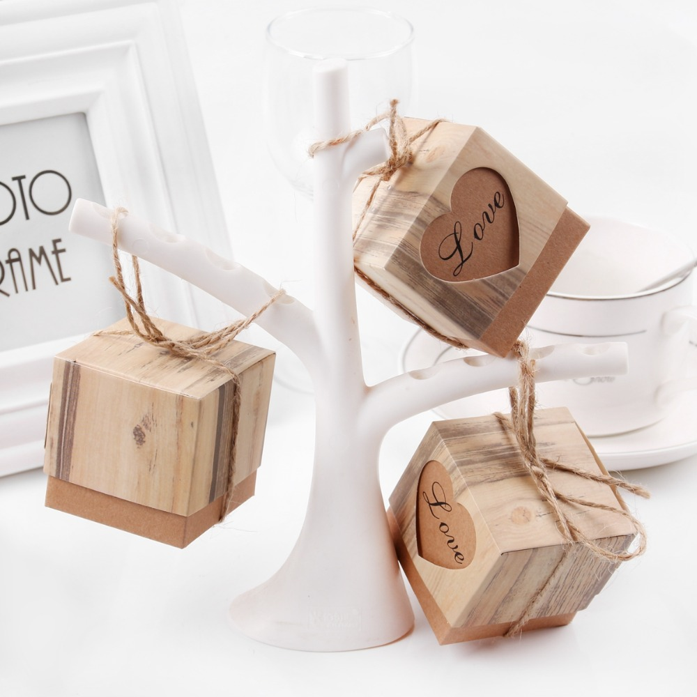 FENGRISE 100pcs Wedding Favors and Gifts for Guests Kraft Paper ...