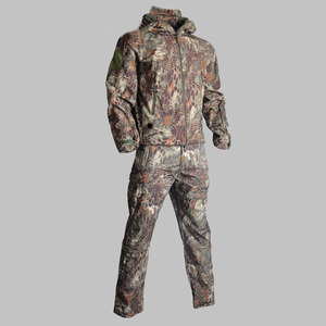 Camouflage Tactical Jacket + P