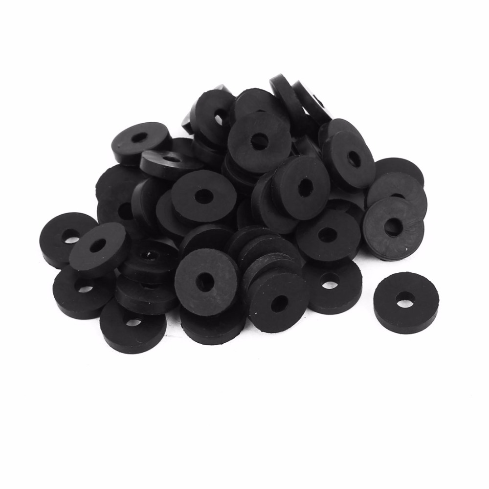 Uxcell Hot Sale 50pcs 3Sizes OD O Ring Hose Gasket Flat Rubber ...