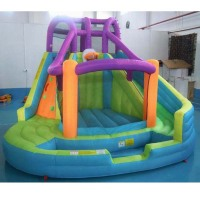 Customized land slide with ball pool Jumping Bouncer Castle for gifts