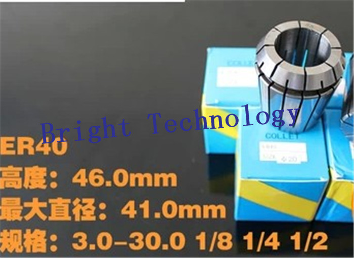 24PCS Full range Accuracy 0.02mm er ER40 Collet Chuck for Spindle Motor Engraving/Grinding/Milling/Boring/Drilling/ tool holder