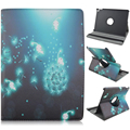 Black Wizard 360 Degree Rotating Stand Cartoon Leather Case for iPad Pro 9.7 Air 3