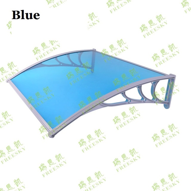 "YP100120 100x120cm 39""x47"" Polycarbonate Outdoor Canopy ,Balcony Cover Patio Awning,polycarbonate canopy sun awning"