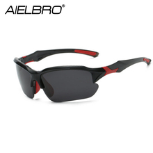 AIELBRO Bike Cycling Glasses Sports Sunglasses UV 400 Polarized Lens For Fishing Golfing Driving Running Eyewear