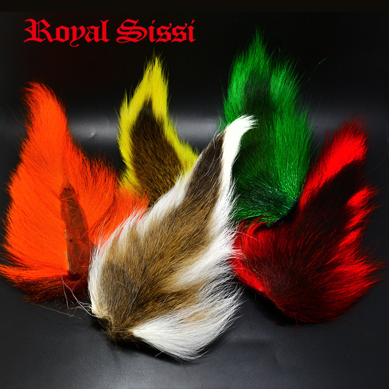 5 цветов, крупные длинные волнистые окрашенные пряди, материал для завязывания волос, для длинных стримеров, обманщиков, клоузеров, джиг