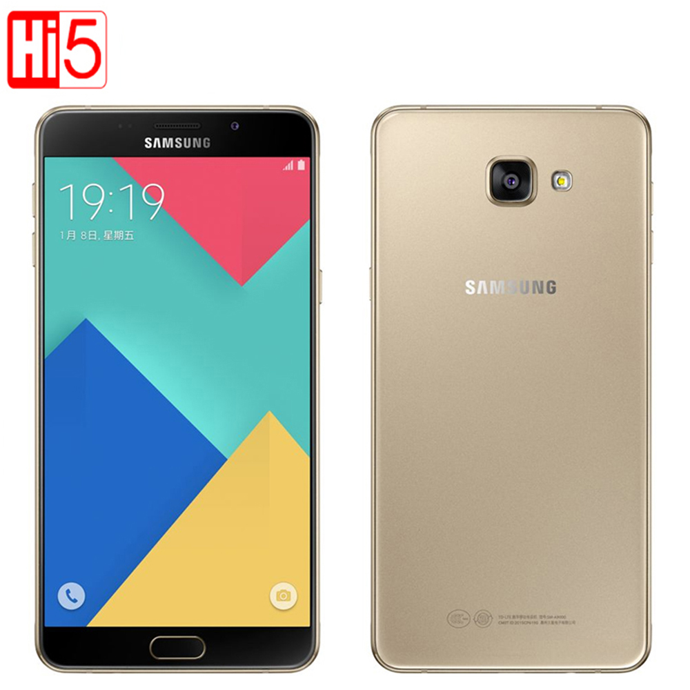 Original Unlocked Samsung Galaxy A9 A9000 Mobile Phones 6.0 inch Octa Core 1.8GHz 3GB RAM 32GB 13MP Android 4000mAh Dual SIM