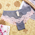 Plus Size M\L\XL Women Sexy Lace Panties Women's Low Waist Cotton Briefs Underwear Thongs Sexy Lace Underwear Women
