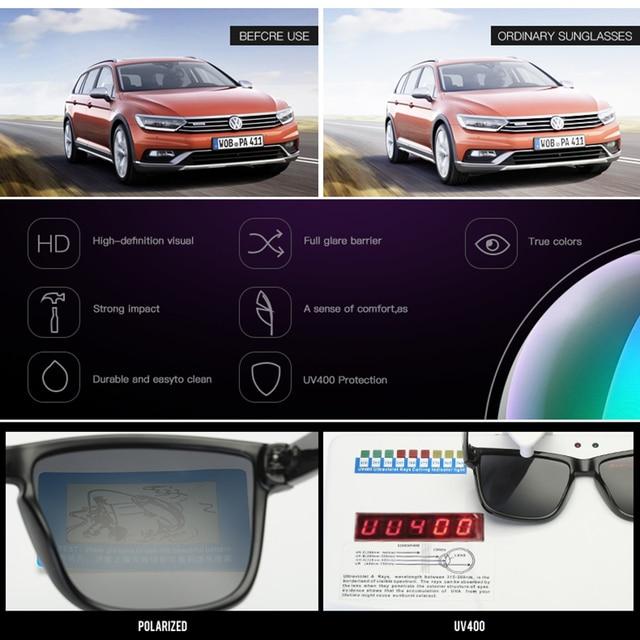 DUBERY Polarized Sunglasses Men's Drive Shades 4