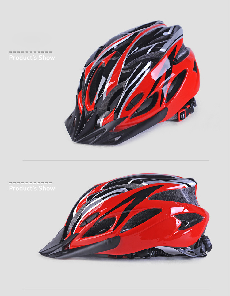 220g Ultralight Bicycle Helmet CE Certification Cycling Helmet In-mold Bike Safety Helmet Casco Ciclismo 56-62 CM-2