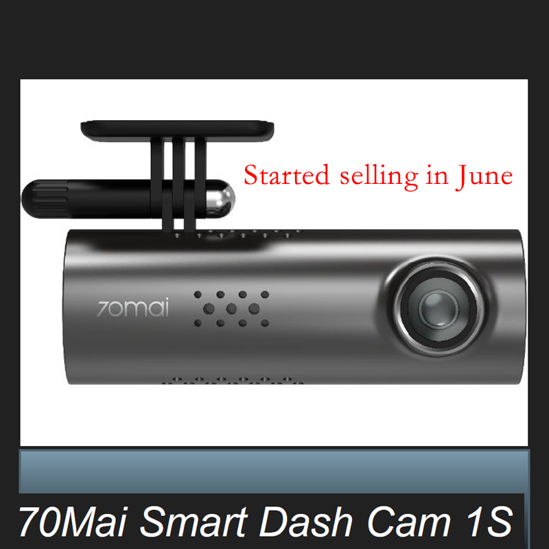 Presale Xiaomi 70mai Dash cam 1s Control Cam 1080HD Night Vision smart Car DVR  Wifi 70 mai Car Camera Auto RecordPresale Xiaomi 70mai Dash cam 1s Control Cam 1080HD Night Vision smart Car DVR  Wifi 70 mai Car Camera Auto Record