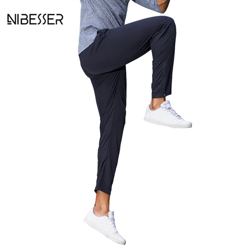 NIBESSER Men Fitness Comperssion Mens Jogger Pants Tights Pants Trousers Brand Mens Sweat Pants Fashion Joggers Leggings