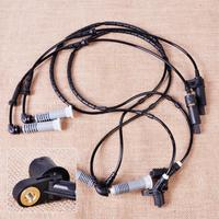 4pcs Front Rear ABS Wheel Speed Sensor Fit For BMW 3 Series E46 320i 323Ci 323i