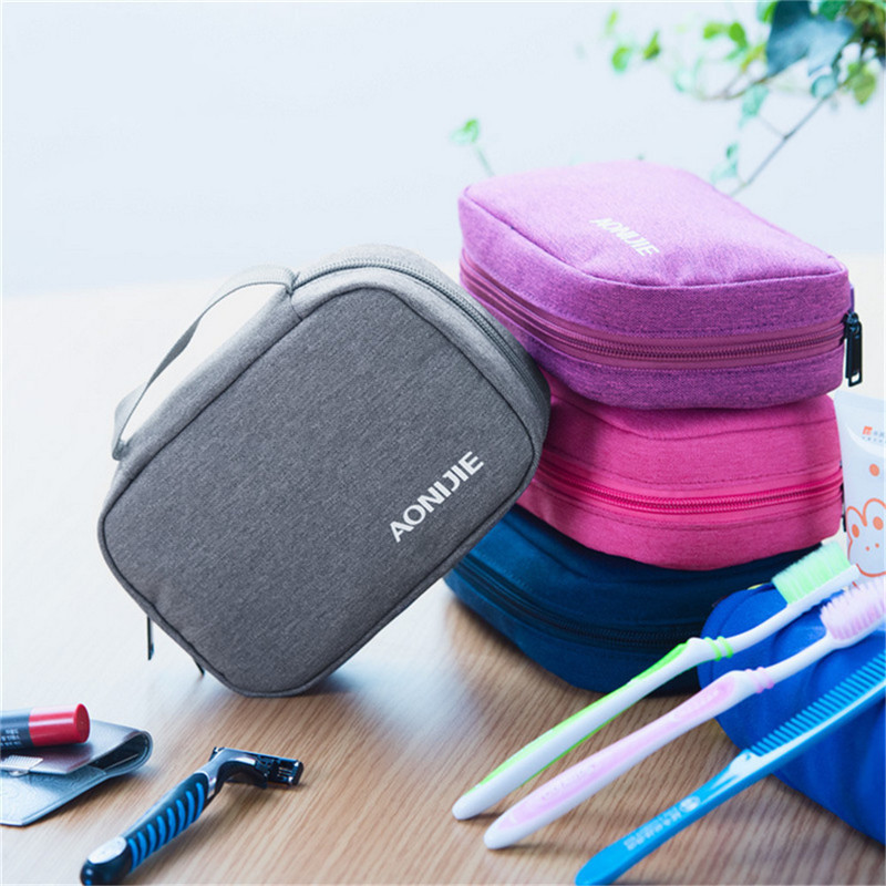 Outdoor Sports Gym Travel Polyester Waterproof Washing Bag Portable Storage Bath Bag Toi ...