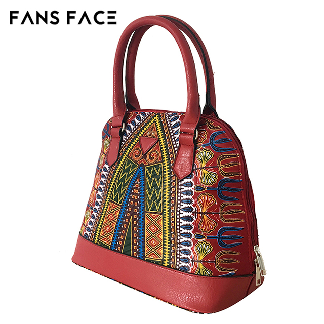 FANS FACE Africa Women Bags Mobile Messenger Ladies Handbag High Quality Luxury Handbags Women Bags Designer Traditional African 3