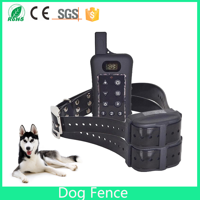 electric dog fence system with wireless remote dog training collar safe electric pet containment with waterproof