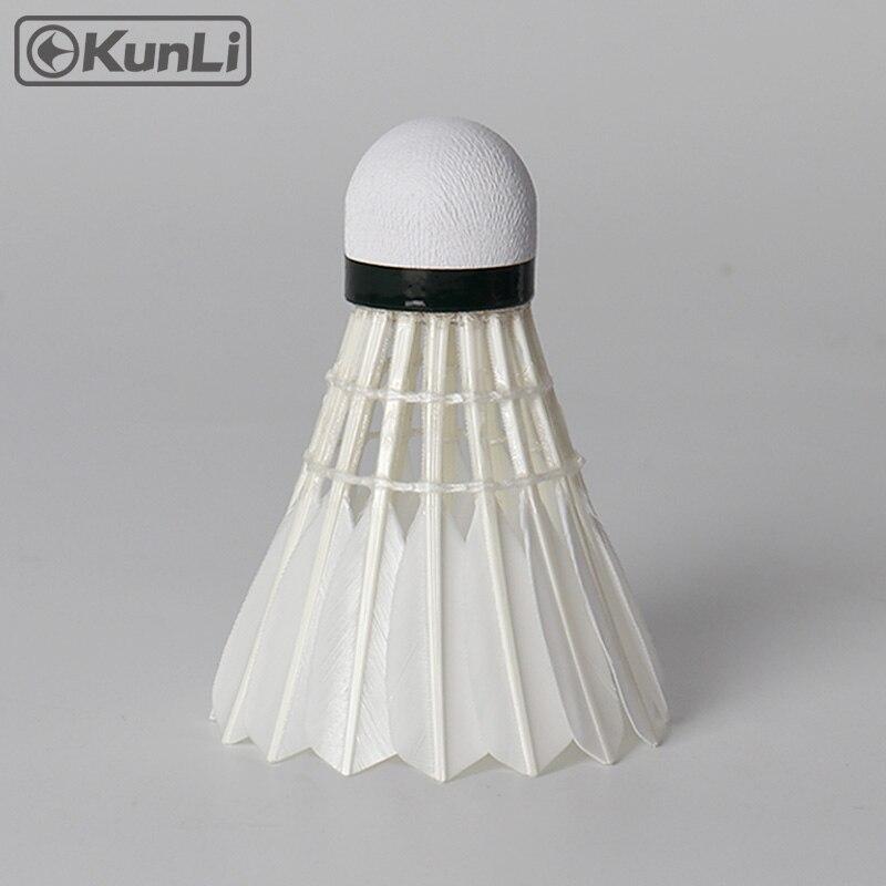 Kunli badminton shuttlecocks KL-Silver Toppbetyg Cigu - Sport racketar - Foto 3