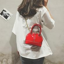 New Female Bag High Quality PU Leather Women's Crossbody Bag Shoulder Messenger Bags Shell Bags Cute Casual Small Black Handbags