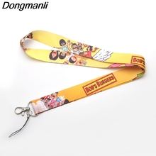 M1834 DMLSKY women lanyards Bobs Burgers necklace lanyard Badge ID Cards Holders chain phone