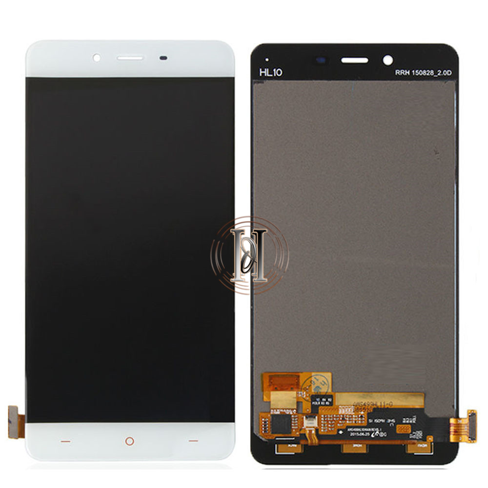 5pcs/lot No Dead Pixel Lcd For OnePlus X LCD Screen With Touch Screen Digitizer Assembly For One Plus X LCD Display + DHL FREE 5pcs lot 100% new original oneplus one lcd screen touch panel digitizer for oneplus one 64gb 16gb lcd display 100%tested