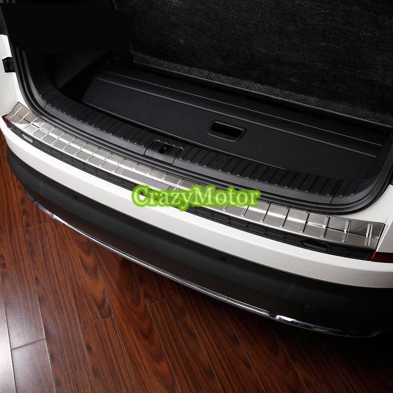 Vauxhall Opel Zafira B MK2 II Rear Bumper Protector Guard Trim Cover Chrome Sill
