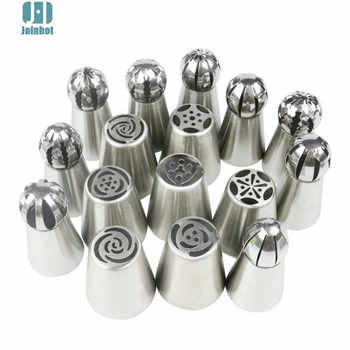 drop shipping 43pcs /set russian nozzles rose tips and Cake Cream Decorating Disposable Icing Pastry bags three color coupler