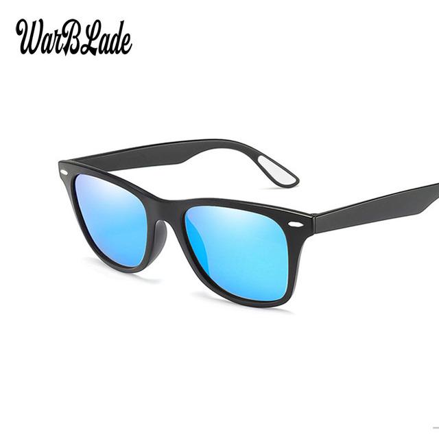 WBL Fashion Polarized Sunglasses Men's Driving Sun Glasses Men Mirrors Coating Square Sunglasses Frame Eyewear Male Gafas De Sol
