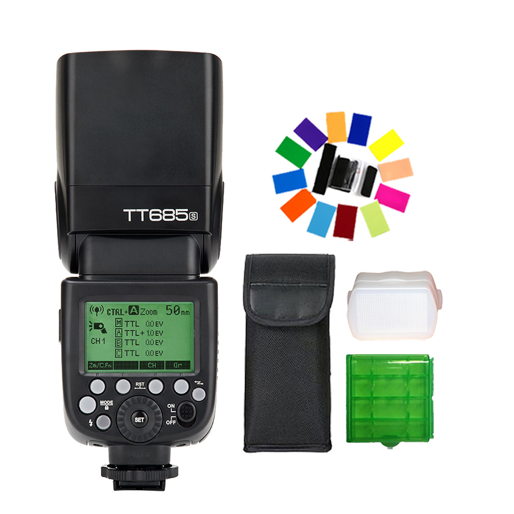 Godox TT685S 2 4G HSS 1 8000s TTL Speedlite GN60 Wireless Flash for Sony DSLR Camera