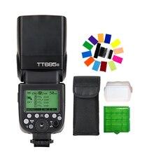 Godox tt685s 2.4 г HSS 1/8000 s TTL Speedlite GN60 Беспроводной флэш-памяти для Sony DSLR Камера A7 A7R a7s A7 II A7R II a7s II a6300 a6000