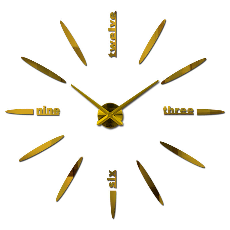 novi ukras doma dnevni boravak kvarc moderni zidni sat moda diy - Kućni dekor - Foto 3