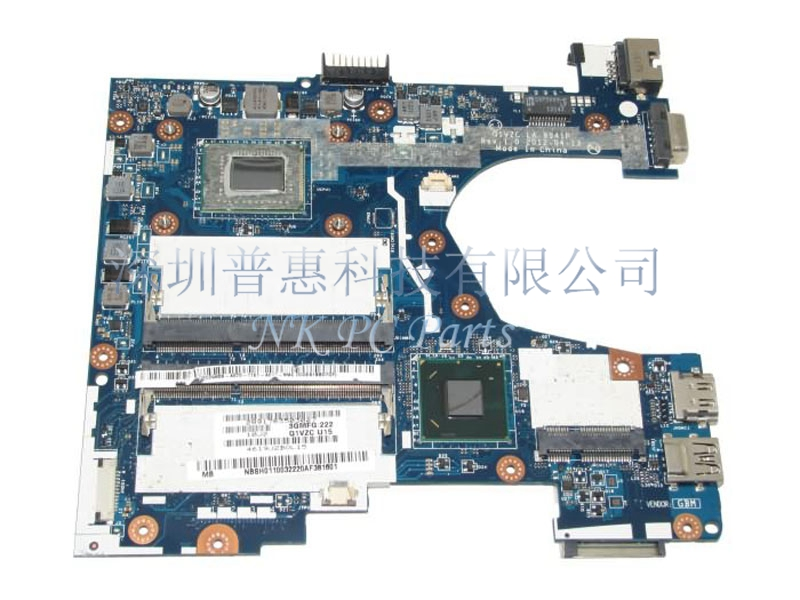 NBSH011003 NB.SH011.003 LA-8941P Main board For Acer 756 Laptop motherboard DDR3 Celeron 877 CPU 100% tested big togo main circuit board motherboard pcb repair parts for nikon d610 slr