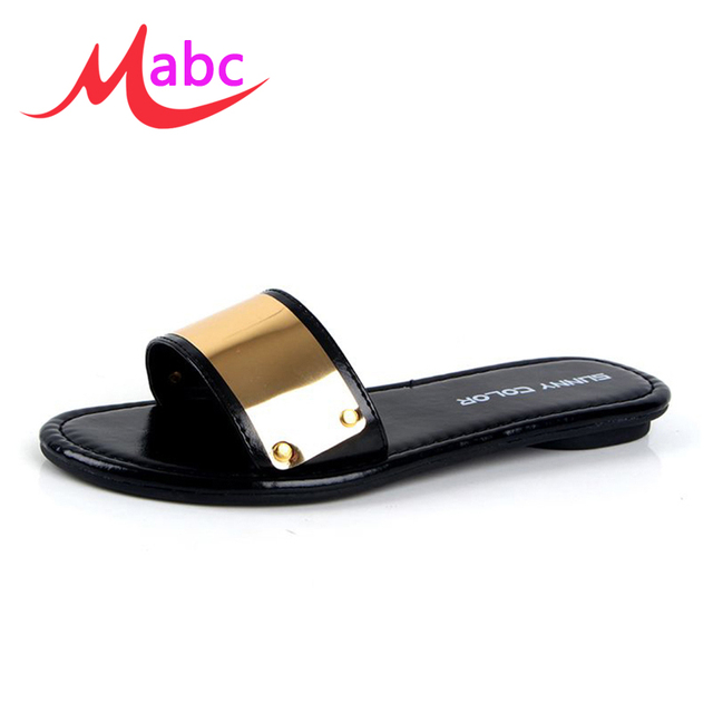 White Flat Rubber Shoes