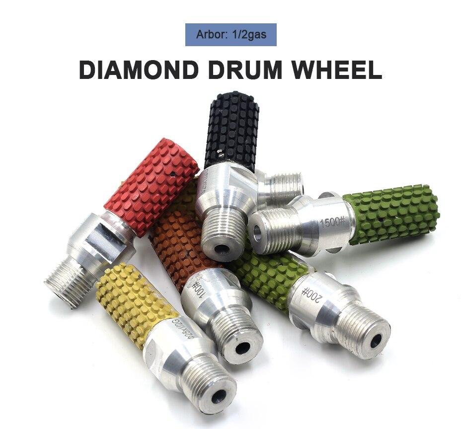 Gás Diamante Rebolo Para Polimento de Resina