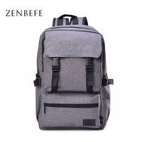 ZENBEFE Vintage Women Backpack Canvas Bag Casual Student School Bag Travel Bag Daily Satchel Rucksack Backpack