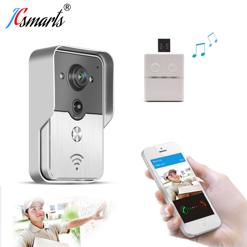 KNOX KW01 Wifi Video Door Bell Wireless Door Interfone Phone Unlock Door Remotely By Smart Phones