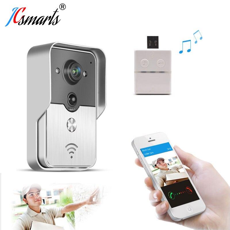 KNOX KW01 Wifi Video Door Bell Wireless Door Interfone Phone Unlock Door Remotely By Smart Phones