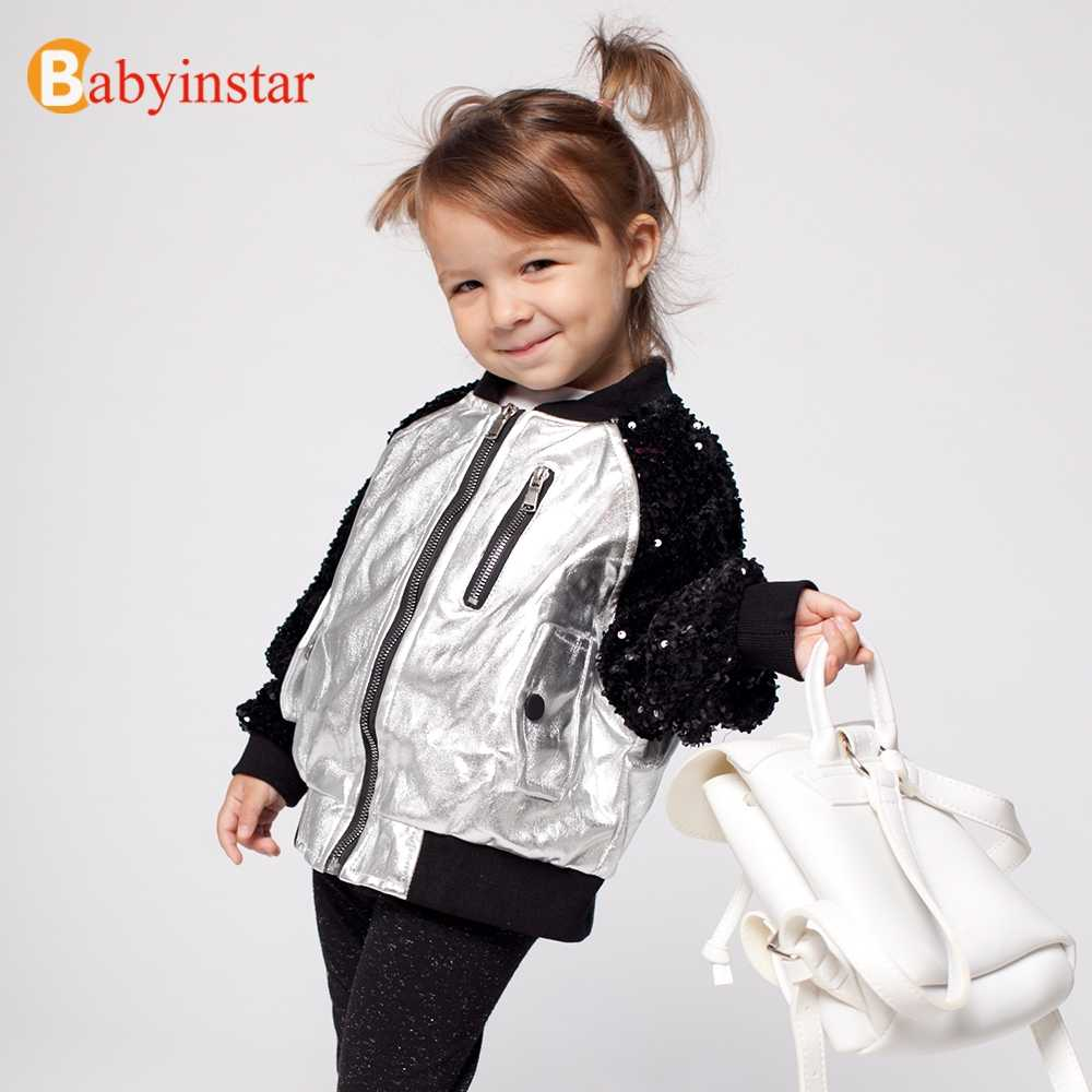 60c50cbf5b2e8 ... Boutique Costume For Girl Gold & Sliver Sequin Outerwear & Coat For Kid  Girls Children Unisex ...