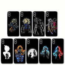 Dragon Ball Phone Clear Soft TPU Cases For iPhone 5S SE 8 7 6 Plus 6S X XS MAX